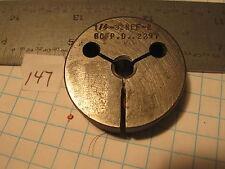"Woodworth 1/4""-32 NEF-2 GO .2297 Thread Gage Spot Ground (147) Machinist Tool"
