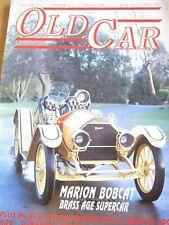OLD CAR MAGAZINE MAR 1990 MARION BOBCAT BRASS AGE SUPERCAR AC ACE BRISTOL 400