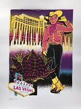 Rare 2010 A/P Adam Turman Advertising Art Print Screenprint For Las Vegas NV