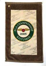 2005 PGA CHAMPIONSHIP BALTUSROL GOLF BAG TOWEL UNUSED