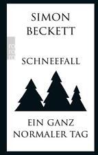 Schneefall & Ein ganz normaler Tag von Simon Beckett (2016), UNGELESEN