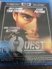 THE QUEST Jean-Claude Van Damme (Region Free Blu Ray) NEW