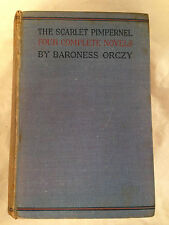 Baroness Orczy - Scarlet Pimpernel, Four Complete Novels in One Volume