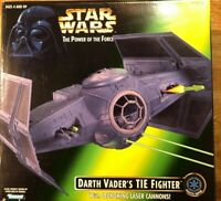 Darth Vader's TIE Fighter (MIB) Star Wars POTF2 (1996) Power of the Force
