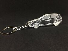 Keychain with ring for Mitsubishi ASX RVR  acrylic car keyring auto accessory