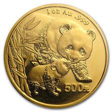 2004 China 1 oz Gold Panda BU (Sealed) - SKU #149
