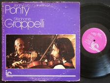 JEAN-LUC PONTY STEPHANE GRAPPELLI Ponty Grappelli LP INNER CITY IC 1005 US 1976