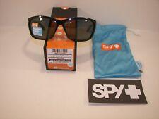 Brand New Spy Allure #673249038864 Black/Happy Grey Green Polarized