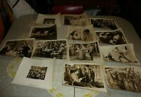 Vintage Lot of 13 Movie Theater Movie Promotion Photos Lobby Photos S-33