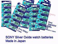 Sony Silver Oxide baterías 377 371 394 395 364 y otros Gastos de envío GRATIS