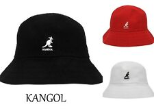 new  2020 Kangol Boucle Casual Bucket Hat -BNWT cap BLACK// WHITE - RRP £49