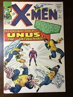 X-Men #8 (1964) - 1st Unus the Untouchable! - Key!