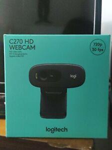 Webcam Logitech c270 hd 720P 30FPS  Video HD Con Microfono Web Cam disponibile