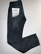 PD&C Paper Denim Cloth Men's Slim Tapered Jeans NWT 30X32 New with Tags Dano