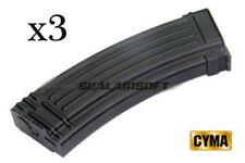 CYMA Mid-Cap 140rd Airsoft Toy Magazine For 47 AEG (Black) CYMA-C96-3PCS