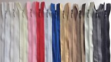 Invisible zip,6'8'10'12'14'16'18..24'-BUY5 GET 5 FREE Woven,Close-end,Concealed