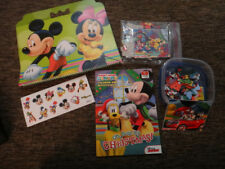 lot Disney MICKEY MOUSE Clubhouse book stickers coloring sketch pad NEW xmas