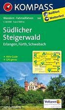 KOMPASS 168 Wandern * Rad Südlicher Steigerwald 1 : 50 000 UNBENUTZT statt 9.99