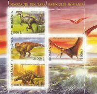 Dinosaurier Rumänien  postfrisch 691