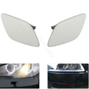 Pair Car Headlight Washer Jet Nozzle Cover Cap For BMW E92 E93 328xi 335i xDrive