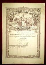Brasil  Banco da Provincia  Rio Grande do Sul  Share 1918