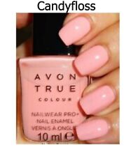 Avon True Colour Nailwear Pro+ Nail Enamel Polish  * Candyfloss Pink * NEW BOXED