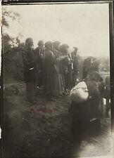 Moyen-Orient des Pélerins russes au Jourdain 9x6,5cm Voyage en Orient 1909