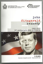 "SAN MARINO - 5 Euro comm. 2013 ""J.F.Kennedy"" FDC in blister"