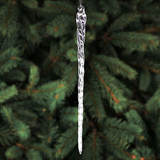 "10"" Glass Icicles - 12 Christmas Ornaments"