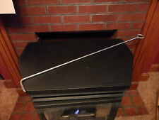 "FIRE PIT POKER 34""LONG 3/8"" THICK NEW AMISH MADE STAINLESS STEEL AMERICAN MADE"