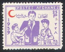 Afghanistan 1959 Medical/Red Crescent/Cross/Health/Welfare 1v (n26219)