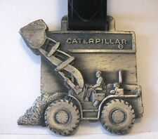 Cat Caterpillar Wheel Loader Pocket Watch Fob WORTHAM MACHINERY CO  WY   Leavens