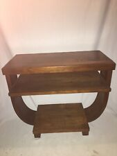 Gilbert Rohde Brown Saltman Art Deco End Table Mahogany Mid Century Modern