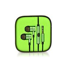 Auricolari Cuffie Universali per Samsung Galaxy S6, S7, S8, S9 verde