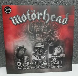 "L.P. 33 giri Vinile MOTORHEAD ""the world is ours - vol. 1"" recorded in Santiago"