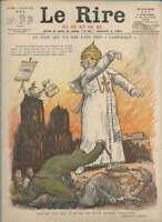Journal Le RIRE Rouge, édition de guerre N° 179 du 20 avril 1918