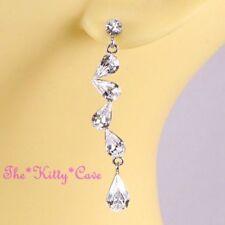 c6c846668a49 Pendientes de bisutería pendientes largos color principal plata cristal