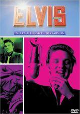 """ELVIS THAT'S ALRIGHT - 60 YEARS ON""  BBC MUSIC DOCUMENTARY DVD + BONUS presley"