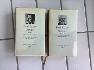 Oeuvres-Paul Valéry- 2vol-Pleiade.