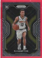 2020-21 Panini Prizm RJ Hampton Rookie RC #286 Base Denver Nuggets
