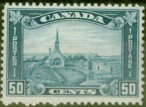 Canada 1930 50c Blue SG302 Fine Lightly Mtd Mint