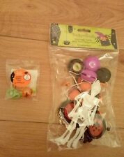 Bumper Pack of Spooky Party Bag Fillers and Pack of Bubble Rings