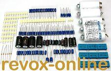 Kondensatorensatz, für alle Revox A700, Elkos, Tantal-, Motor- und Entstörkond.