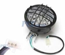 12V LED 3 WIRE HEADLIGHT LAMP W/ HIGH LOW BEAM ATV GO KART QUAD SCOOTER H LT04