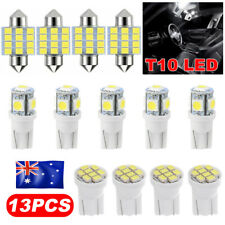 13X T10 LED 12V Light Car Bright White Festoon Globe Bulb Interior Kit 31MM 8SMD