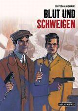 Sang et silence #1 HC CORTEGGIANI/MALES Mafia-Graphic Novel bonne chance noir
