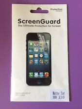 Screen Protector Matte for BB Z10