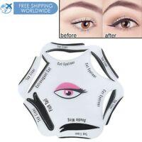 Eyeliner Stencil Eyes Template Shaper Eye Makeup Cat Stencils Card Model Guide