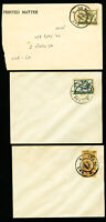 Israel Palestine Stamps Scarce Lot of 5 Interim JNF Covers