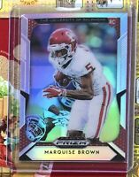 MARQUISE BROWN  2019 Panini Prizm Rookie Card Baltimore Ravens Fans!